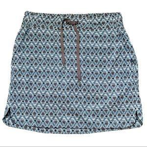 Athleta active Midtown skirt skort print Sz 2